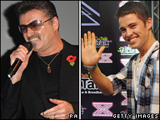 George Michael and Joe McElderry will perform together