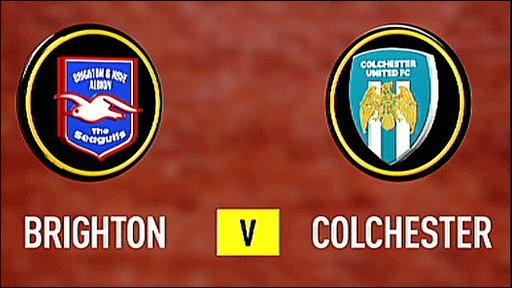 Brighton 1-2 Colchester