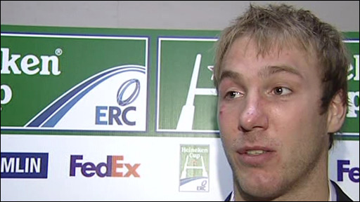 Ulster and Ireland flanker Stephen Ferris