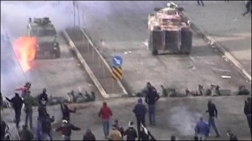 Clashes on the streets of Turkey