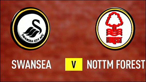 Swansea 0-1 Nottingham Forest