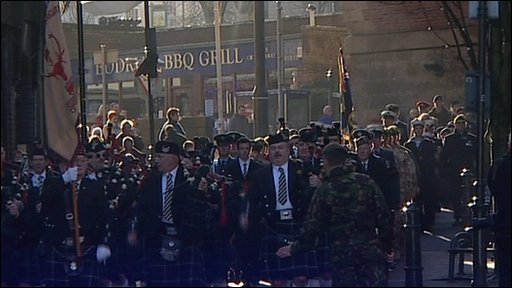 Mansfield March for Heroes