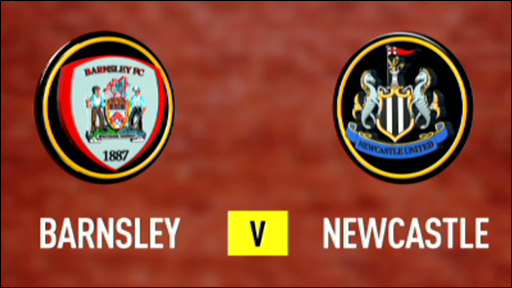 Barnsley 2-2 Newcastle