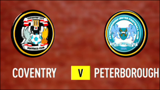 Highlights - Coventry 3-2 Peterborough