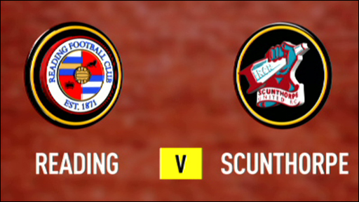 Reading 1-1 Scunthorpe