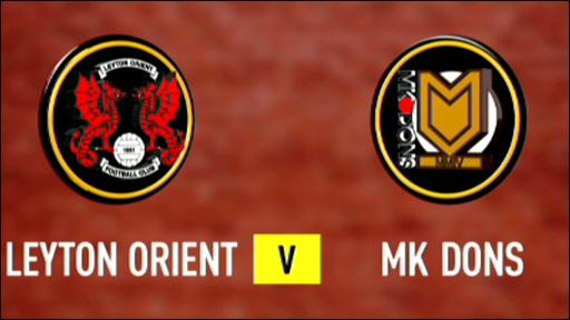 Leyton Orient v MK Dons