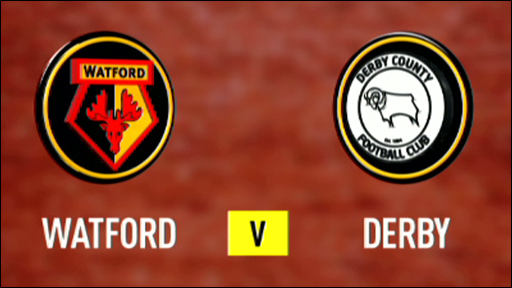 Watford 0-1 Derby