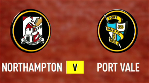 Northampton Town v Port Vale