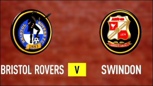 Bristol Rovers 3-0 Swindon