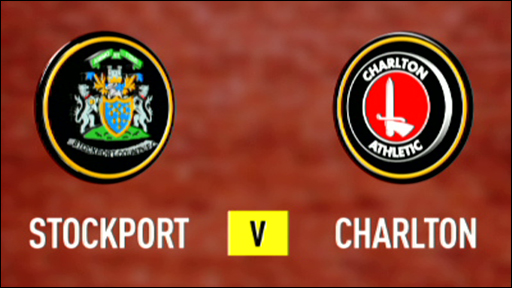 Stockport 1-2 Charlton