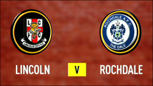Lincoln City 1-3 Rochdale