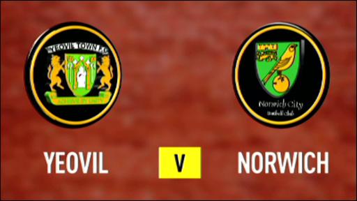 Yeovil 3-3 Norwich