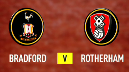 Bradford City v Rotherham United