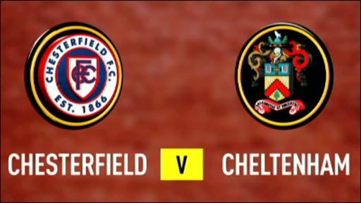 Chesterfield v Cheltenham Town