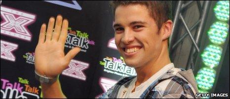 2009 X Factor winner Joe McElderry