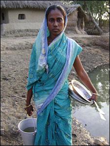 Tiger widow Seba Mridha