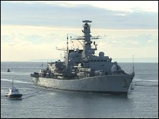 HMS Iron Duke has a strong record of successful anti-narcotics operations