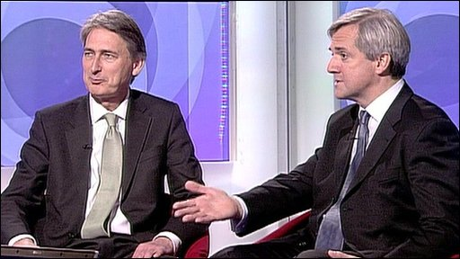 Philip Hammond and Chris Huhne