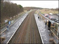 Workington North station
