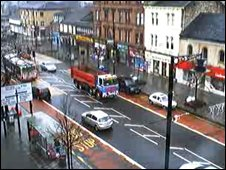 Webcam view of Main Street, Rutherglen