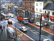 Webcam view of Main Street, Rutherglen