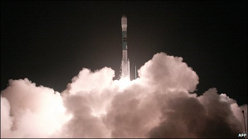 The launch of Nasa's Wide-field Infrared Survey Explorer
