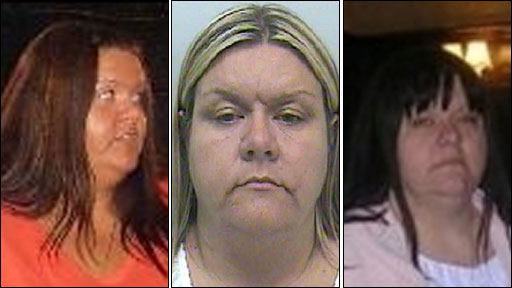 Three images of paedophile Vanessa George