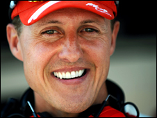 Schumacher won five successive F1 titles from 2000-04