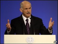 George Papandreou, 14 December 2009