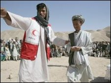 ICRC official in Afghanistan