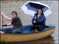 Michelle Gildernew visited those affected by the flooding