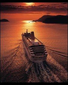 Oriana cruise ship, P&O