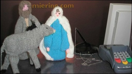 Knitted figures