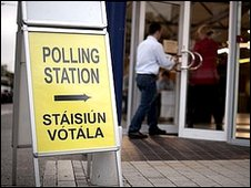 Twelve months after the first vote, the public voted in favour of the Lisbon Treaty