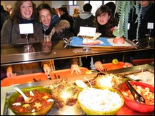 School meals near Lille
