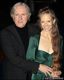 James Cameron and wife Suzie Amis