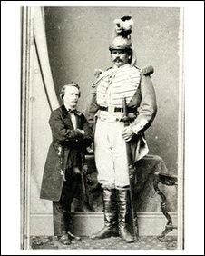 Arthur Caley 'The Manx Giant'