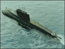 Russian-built Kilo class submarine - file photo