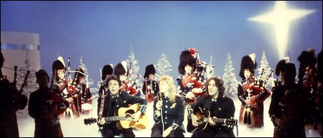 Wings perform Mull of Kintyre on The Mike Yarwood Show, Christmas 1977