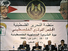 PLO meeting, Ramallah, 15.12.09