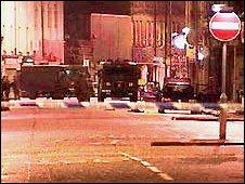 Scene of attempted bomb attack in 2002