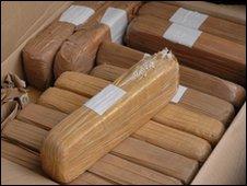 Seized heroin haul