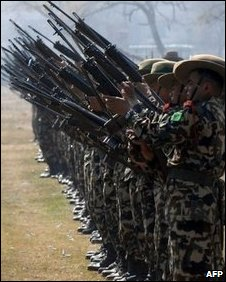 Nepalse soldiers