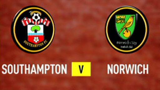 Southampton 2 - 2 Norwich (6 - 5 pens)