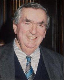 Dennis Healey in 1992