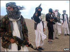 Taliban fighters (AFP)