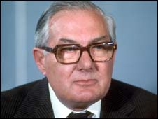 Former prime minister Jim Callaghan