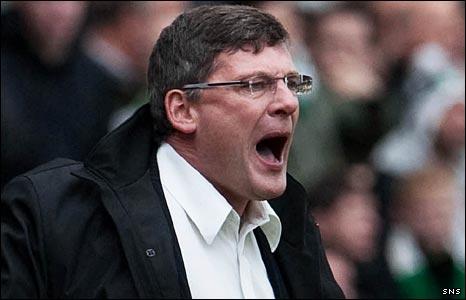 Dundee United manger Craig Levein