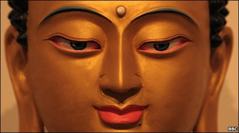 A statue of Buddha