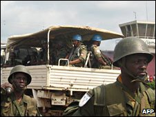UN and Congolese troops